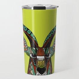 antelope chartreuse Travel Mug