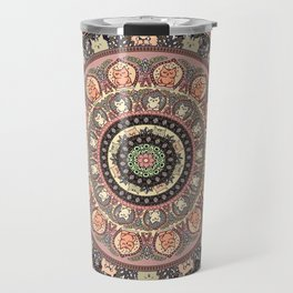 Cat Yoga Medallion Travel Mug