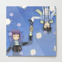 PERSONA 3 - Do You Want To Die With Me? Metal Print