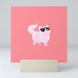 Fancy Cat Mini Art Print