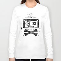 tape Long Sleeve T-shirts featuring Pirate Tape by melted