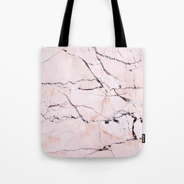 Light pink marble detail Tote Bag