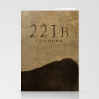 221b Stationery Cards featuring No. 6. 221B by F. C. Brooks