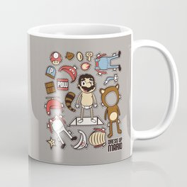 Dress up Mario Coffee Mug