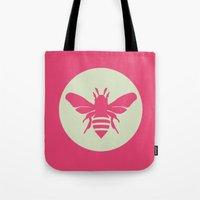beetle Tote Bags featuring Beetle by Lídia Vives