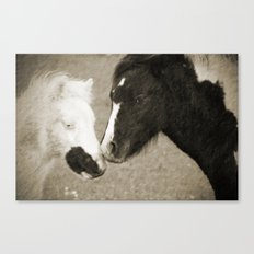 When We Touch Canvas Print
