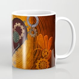 Steampunk, heart with gears Coffee Mug