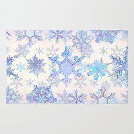 Snowflakes #4 Rug