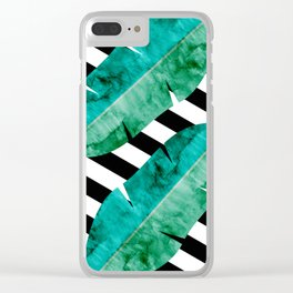 Fahion and tropical I Clear iPhone Case