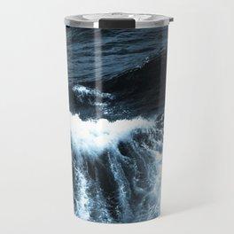 Dark Sea Waves Travel Mug