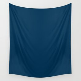 Prussian Blue - solid color Wall Tapestry