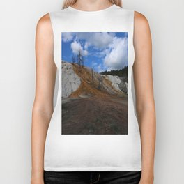 Mammoth Hot Spring Colors Biker Tank