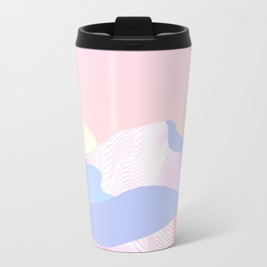 Dune Sun Metal Travel Mug