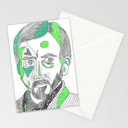 obi wan kenobi - abstract Stationery Cards