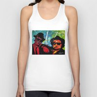 blues brothers Tank Tops featuring Blues by veermania