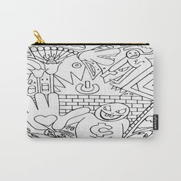 Snakes In The Grass Carry-All Pouch