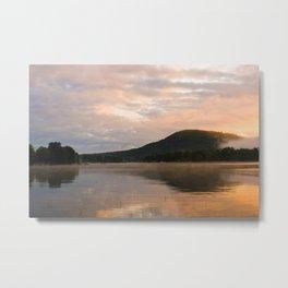 First Light (Sunrise on Lake George) Metal Print