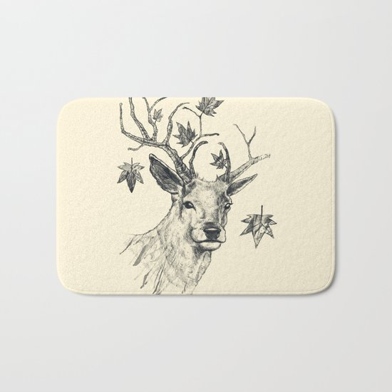 From Fall to Rise Bath Mat