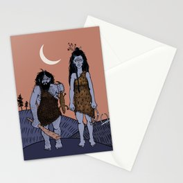 THE first date Stationery Cards