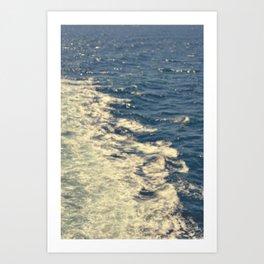 Sea Adventure - Ocean Crossing Art Print