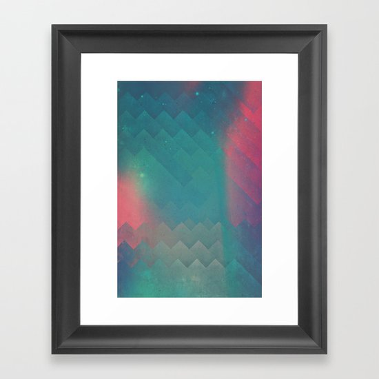 fryyndd ryqysst Framed Art Print