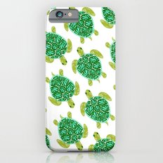 Sea Turtle – Green Palette iPhone 6s Slim Case