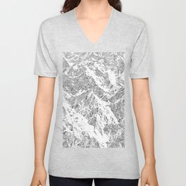 Call of the Mountains Unisex V-Neck