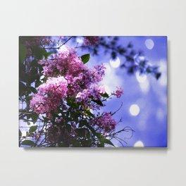 Lilac Sparkle Metal Print