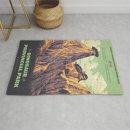 Dinosaur Provincial Park Rug