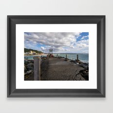 Aguadilla coast 6 Framed Art Print