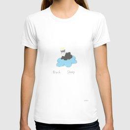 black sheep in heaven T-shirt