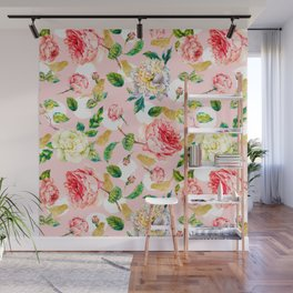 Blooming in spring Wall Mural