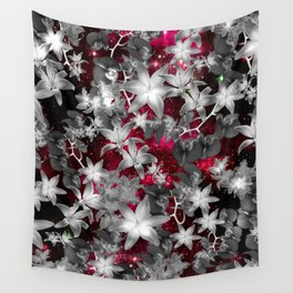 Orchid Galaxy Wall Tapestry