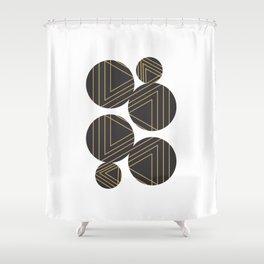 Abstract Geometry #society6 #decor #buyart Shower Curtain