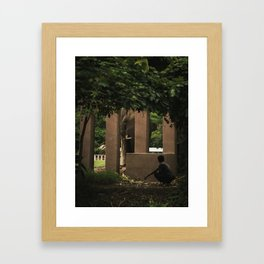 elephant nature park 3 Framed Art Print