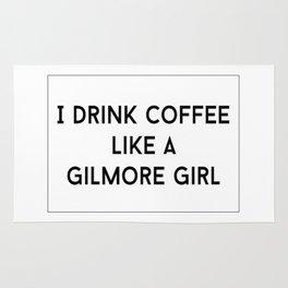 Drink Coffee Like A Gilmore Rug