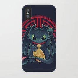 Maneki Dragon iPhone Case