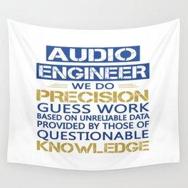 AUDIO ENGINEER Wall Tapestry