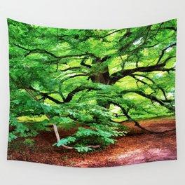Century Oak Tree Wall Tapestry