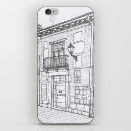 Streets of Alcalá iPhone Skin