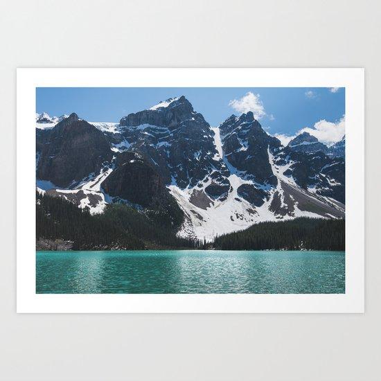 Landscape | Lake Moraine | Alberta | Wild | Nature Art Print