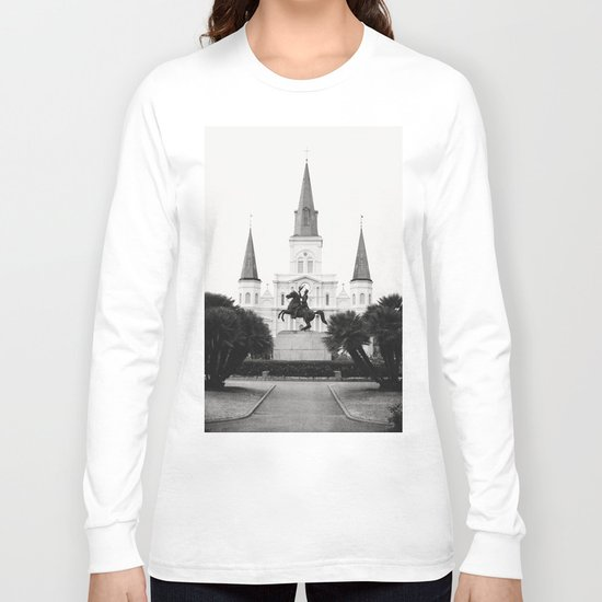Heart and Soul of New Orleans Long Sleeve T-shirt