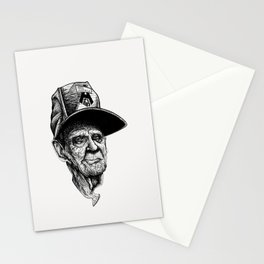 elder man head Stationery Cards