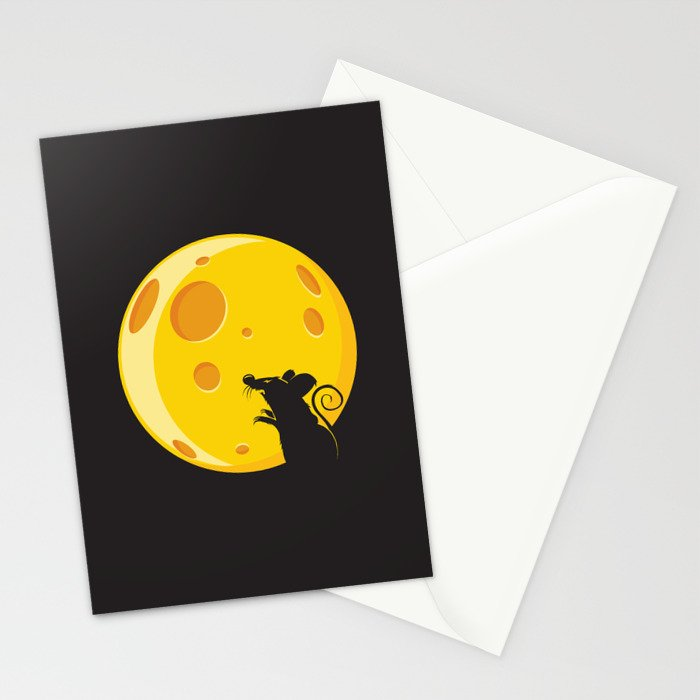 Bloodmouse Stationery Cards