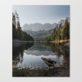 Lake View - Landscape and Nature Photography Canvas Print