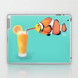 The Clown Fish Drinks Laptop & iPad Skin