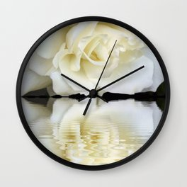 Sunset Rose Wall Clock
