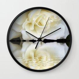 Sunset Rose Wall Clock