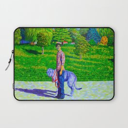 Portrait of Phil and Daniel Laptop Sleeve