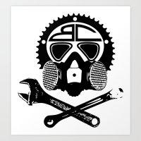 BC - Balestra&Campana bikes with a story Art Print